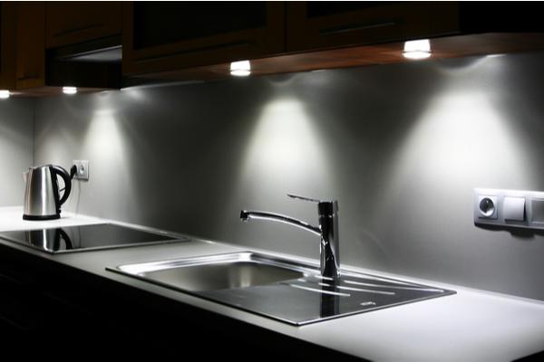 Iluminación en las cocinas modernas