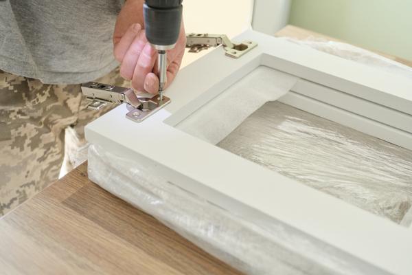 Instalando una cocina de madera