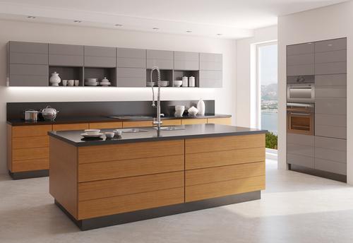 Reforma de cocina con muebles de madera
